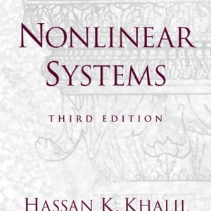 Nonlinear Systems, 3/E 3rd Edition Hassan K. Khalil Solution Manual