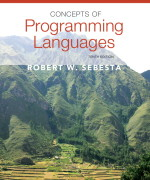 Concepts of Programming Languages, 10/E 10th Edition Robert W. Sebesta Solution Manual