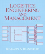 Logistics Engineering & Management, 6/E 6th Edition Benjamin S. Blanchard Solution Manual