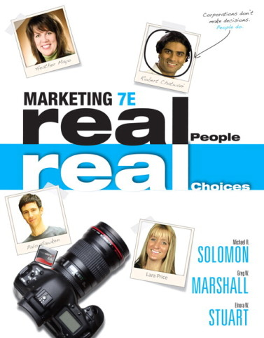 Marketing: Real People, Real Choices, 7/E7th Edition Test Bank