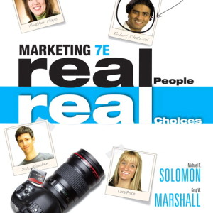 Marketing: Real People, Real Choices, 7/E7th Edition Solution Manual