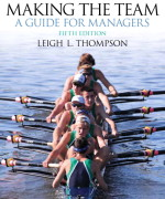 Making the Team, 5/E 5th Edition Leigh Thompson Test Bank
