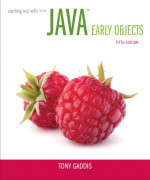 Test Bank for  Starting Out with Java: Early Objects, 5/E Tony Gaddis