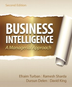 Business Intelligence, 2/E 2nd Edition Efraim Turban, Ramesh Sharda, Dursun Delen, David King Solution Manual