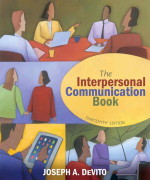 Interpersonal Communication Book, The, 13/E 13th Edition Joseph A. DeVito Test Bank