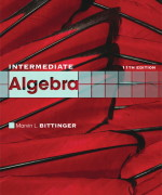 Intermediate Algebra, 11/E 11th Edition Marvin L. Bittinger Test Bank