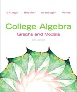 College Algebra: Graphs and Models, 5/E 5th Edition Marvin L. Bittinger, Judith A. Beecher, David J. Ellenbogen, Judith A. Penna Test Bank
