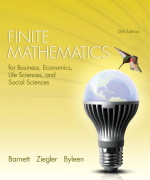 Finite Mathematics for Business, Economics, Life Sciences and Social Sciences, 13/E 13th Edition Solution Manual
