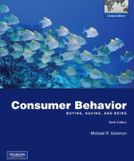 Consumer Behavior 9th edition by Michael R. Solomon Test Bank