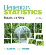Elementary Statistics: Picturing the World 5th edition Ron Larson Solution Manual