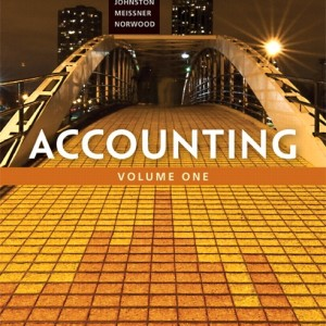Accounting, Volume 1, Ninth Canadian Edition 9/E 9th Edition Charles T. Horngren, Walter T. Harrison, Jr., Jo-Ann L. Johnston, Carol A. Meissner, Peter R. Norwood Solution Manual