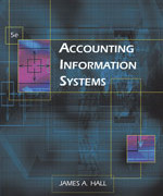 Test Bank for s for Accounting Information Systems, 5th Edition by James A. Hall
