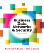 Business Data Networks and Security 9th Edition by Panko Test Bank