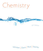 Chemistry 10th edition by Kenneth W. Whitten, Larry Peck, Raymond E. Davis and George G. Stanley Solution Manual