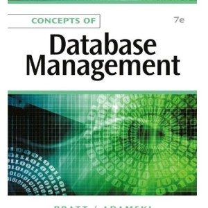 Concepts of Database Management 7th Edition by Pratt Solution Manual