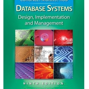 Database Systems Design Implementation and Management 10th Edition by Coronel Solution Manual