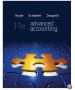 Advanced Accounting 11th Edition by Hoyle Solution Manual