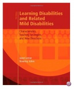 Learning Disabilities and Related Mild Disabilities 12th Edition by Lerner Test Bank