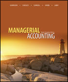 Managerial Accounting 9th Canadian Edition by Garrison Solution Manual