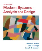 Modern Systems Analysis and Design 6th Edition by Hoffer Solution Manual