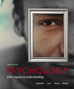 Psychology: From Inquiry to Understanding, 3/E 3rd Edition Scott O. Lilienfeld, Steven J Lynn, Laura L. Namy Test Bank