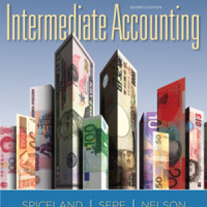 Intermediate Accounting 7 edition. David Spiceland, James F. Sepe, Mark W. Nelson Test Bank