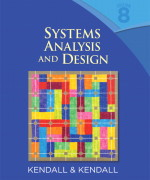 Systems Analysis and Design 8th Edition by Kendall Solution Manual