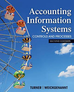 Accounting Information Systems 1e by Turner and Weickgenannt Test Bank