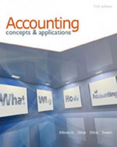 Accounting Concepts and Applications, 11th Edition: Albrecht Test Bank