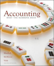 Test Bank for Accounting What the Numbers Mean Marshall McManus 9th Edition