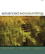Test Bank for Advanced Accounting Fischer 11th Edition