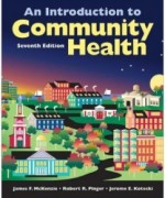 An Introduction To Community Health, 7th Edition: James F. McKenzie Test Bank