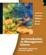 Test Bank for An Introduction to Management Science Quantitative Approach to Decision Making Anderson 13th Edition