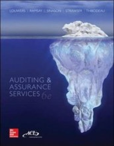Test Bank for Auditing and Assurance Services Louwers 6th Edition