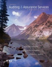Auditing and Assurance Services A Systematic Approach Messier 9th Edition Solutions Manual