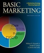 Test Bank for BASIC MARKETING A Marketing Strategy Planning Approach Perreault Jr 19th Edition