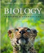 Test Bank for Biology Concepts and Connections Campbell 6th Edition