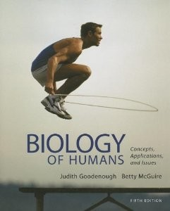 Biology of Humans Concepts Applications and Issues, 5th Edition : Goodenough Test Bank