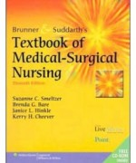 Brunner and Suddarth's Textbook of Medical-Surgical Nursing, 11th Edition: Suzanne C. Smeltzer Test Bank