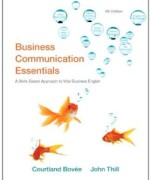 Business Communication Essentials, 5th Edition : Bovee Test Bank