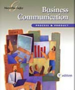 Business Communication Process and Product, 5th Edition: Guffey Test Bank