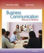 Business Communication Process and Product, 7th Edition: Guffey Test Bank