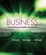 Business Connecting Principles to Practice, 1st Edition: Nickels Test Bank