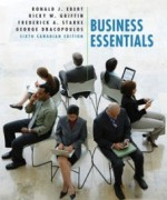 Business Essentials, 6th Canadian Edition: Ebert Test Bank