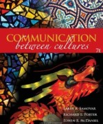 Communication Between Cultures 7th Edition Larry A Samovar Test Bank