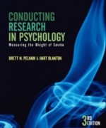 Conducting Research in Psychology Measuring the Weight of Smoke, 4th Edition : Pelham Test Bank