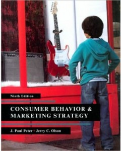Consumer Behavior and Marketing Strategy, 9th Edition: J. Paul Peter Test Bank