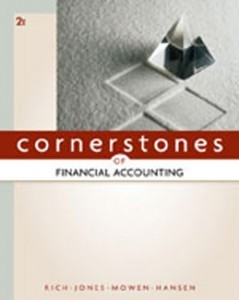 Cornerstones of Financial Accounting, 2nd Edition: Rich Test Bank