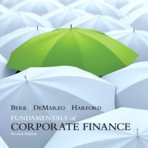 Fundamentals of Corporate Finance, 2nd Edition Jonathan Berk, Peter DeMarzo, Jarrad Hartford Test Bank