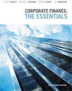 Corporate Finance The Essentials Asia Pacific, 1st Edition : Besley Test Bank